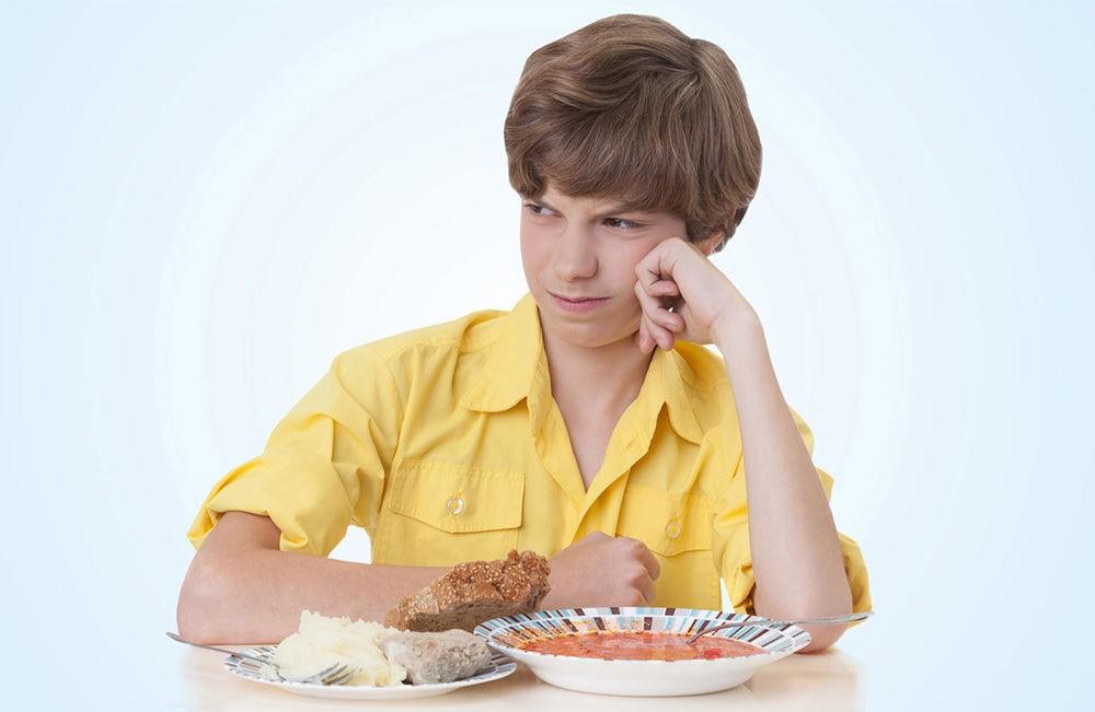Ребенок отказывается следовать диете