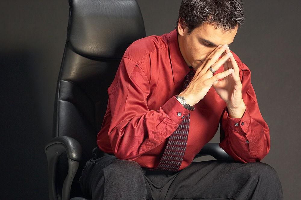 Стресс - одна из возможных причин