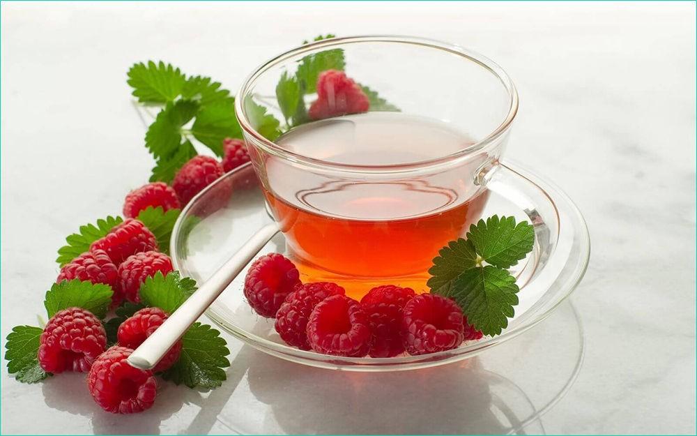 Чай из малины