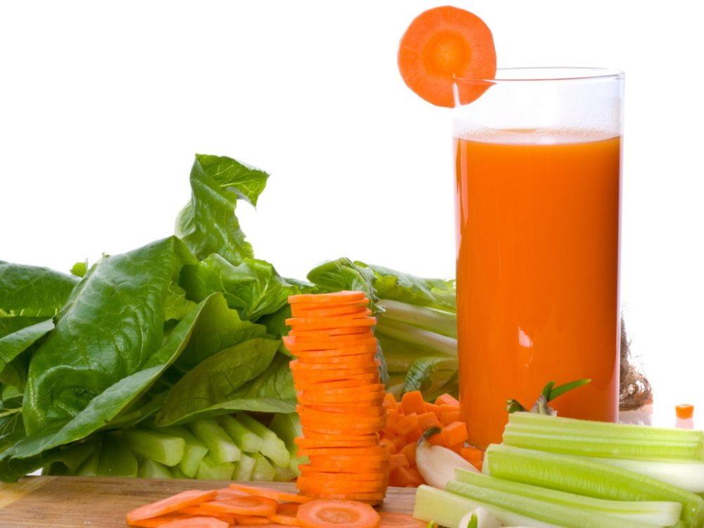 капустно морковный сок