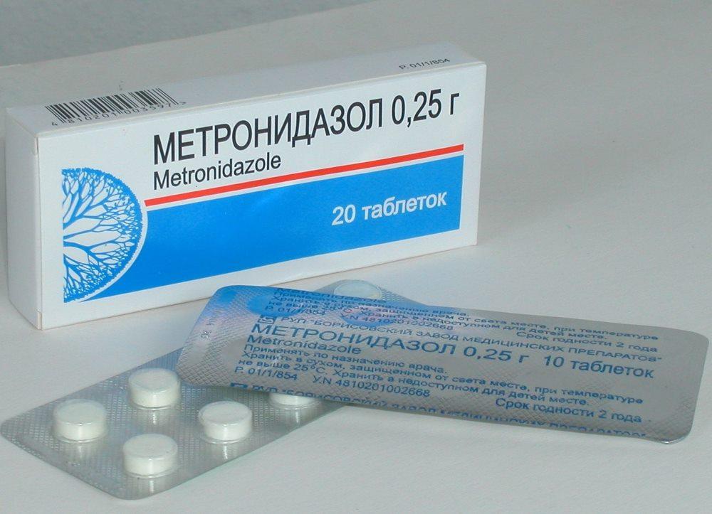 метронидазол при гастрите