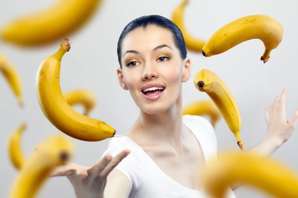 польза банана при гастрите