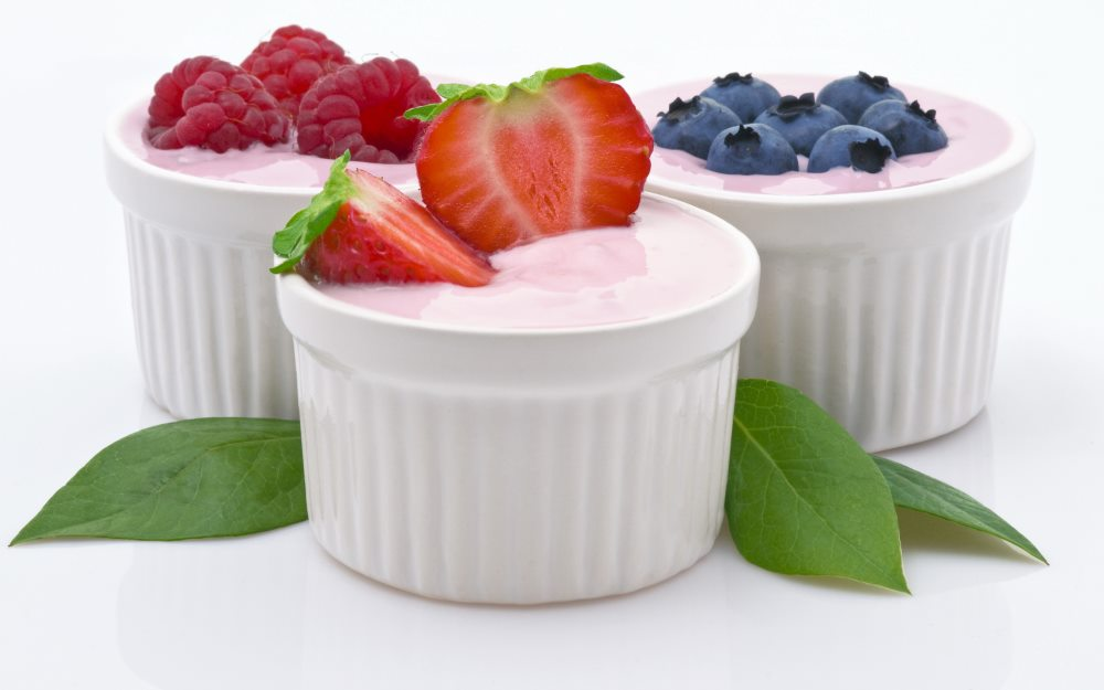 польза йогурта при гастрите