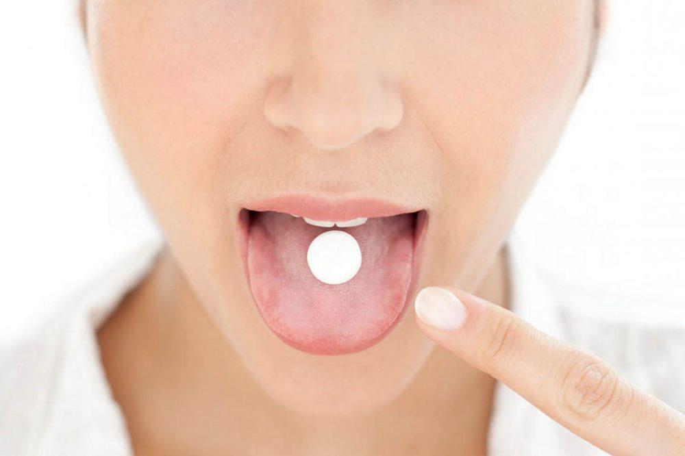 прием таблеток метронидазола