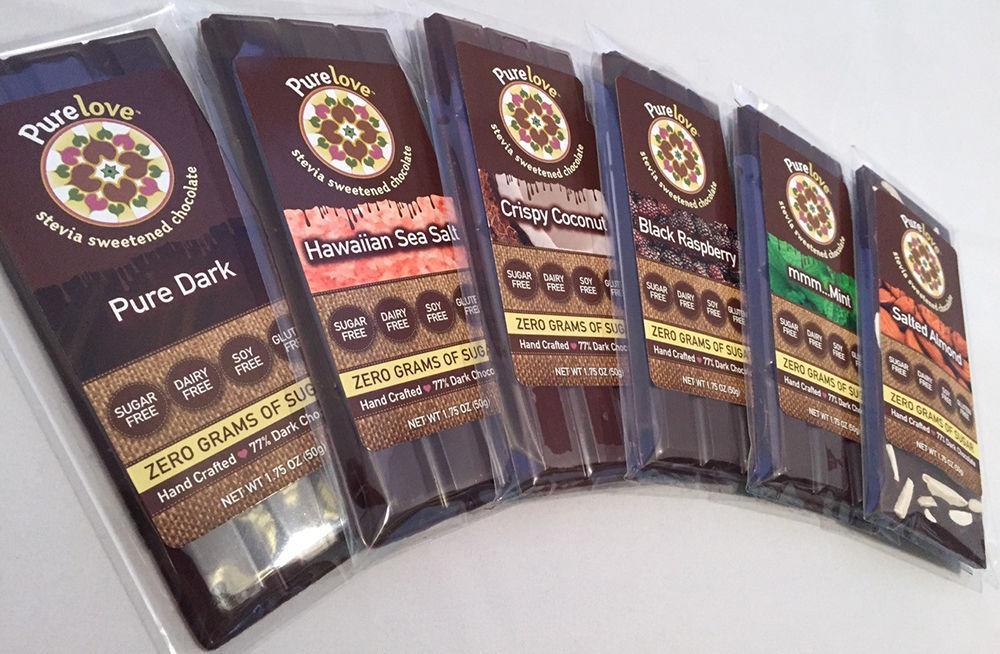 Шоколад со стевией