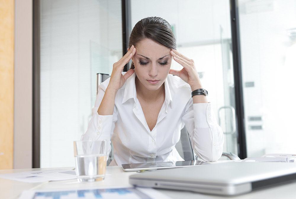 Стресс оказывает влияние на обострение
