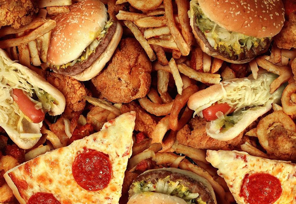 Жирная пища вредна