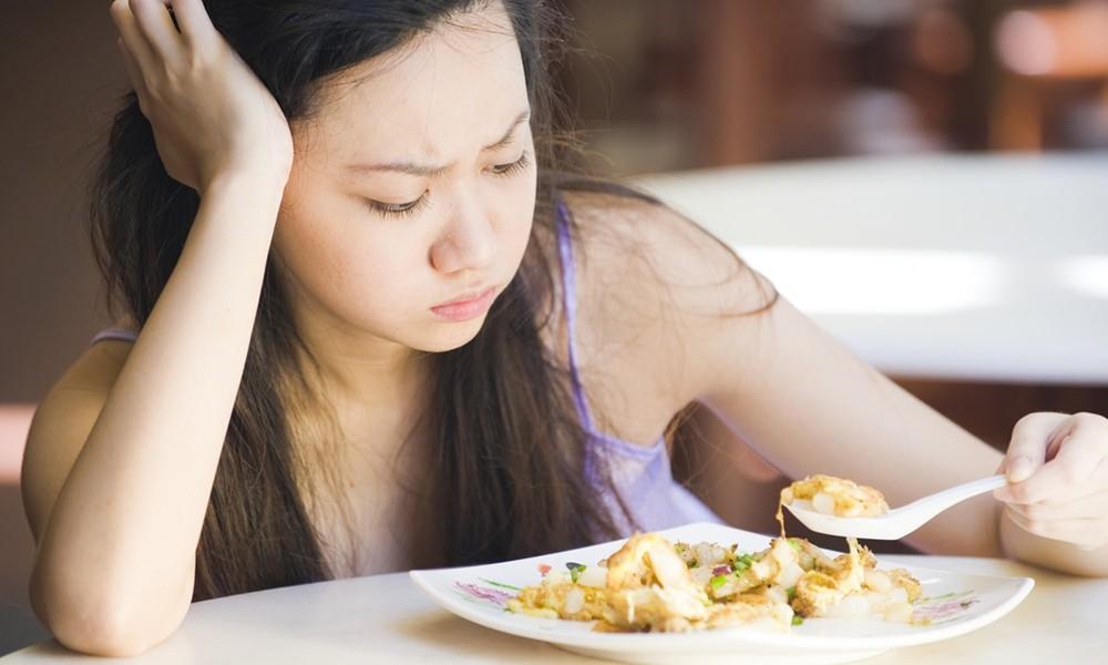 Боли при употреблении пищи