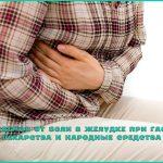 Лекарства от боли в желудке