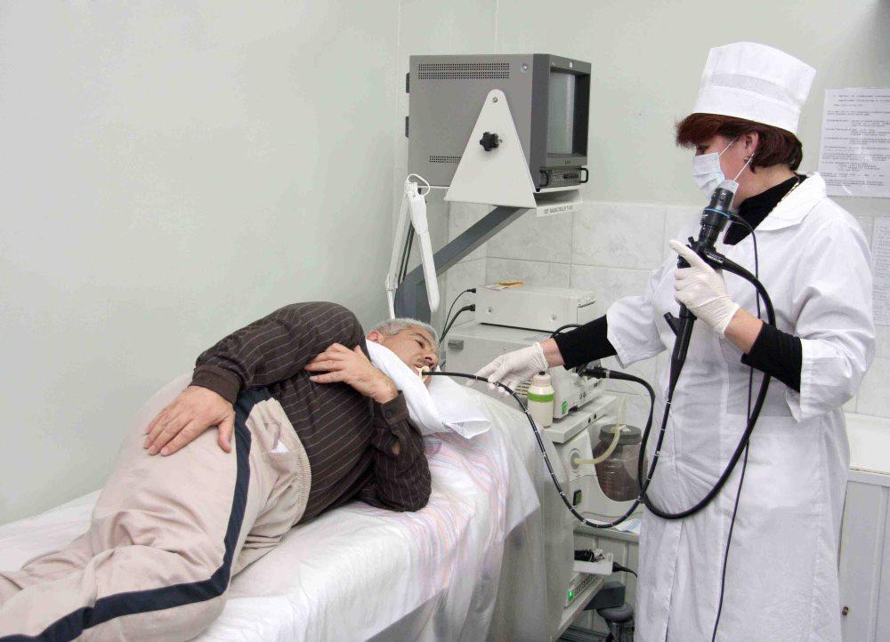 фиброколоноскопия желудка врачом
