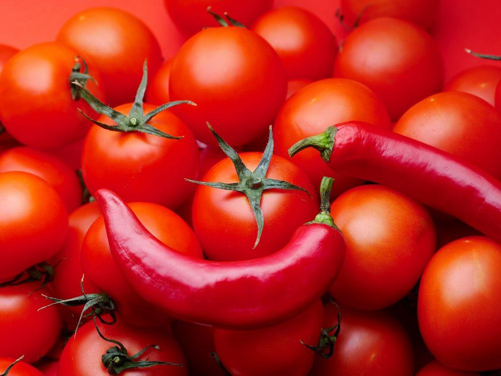 красные овощи при гастрите