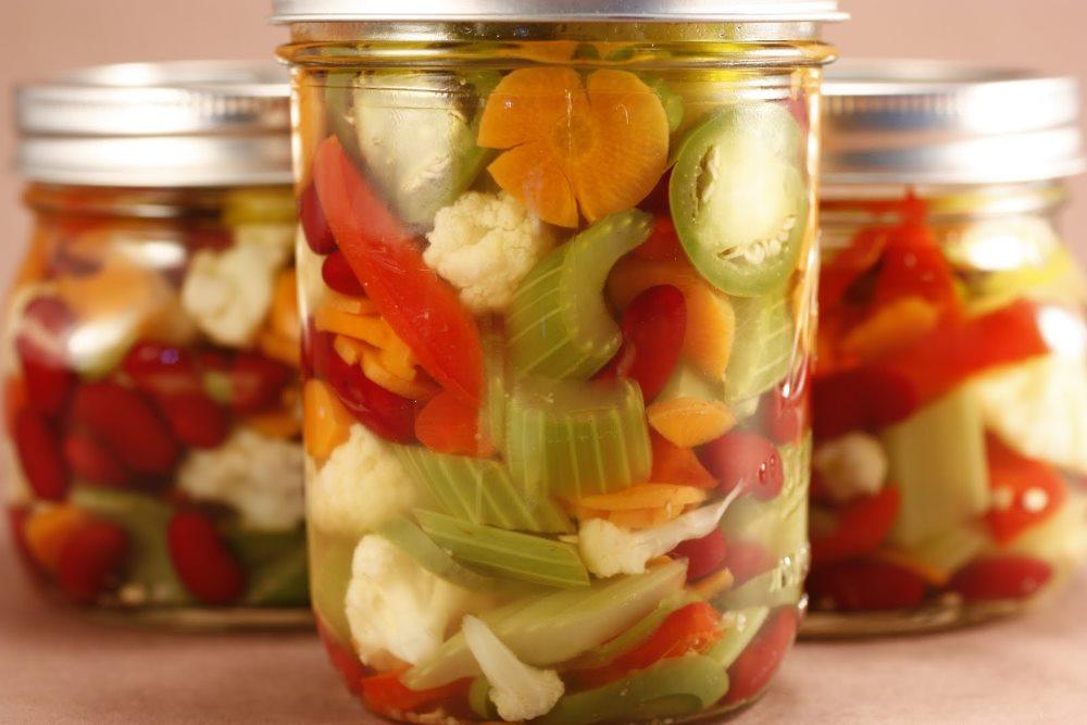 маринованные овощи при гастрите