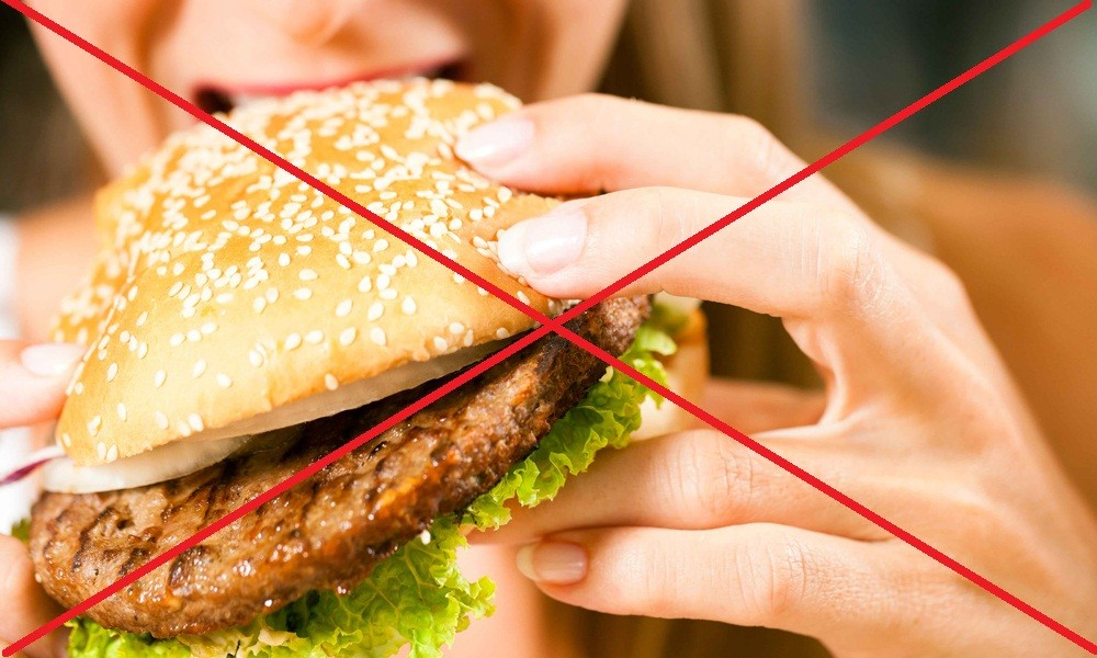 Отказ от жирных, острых, жареных блюд