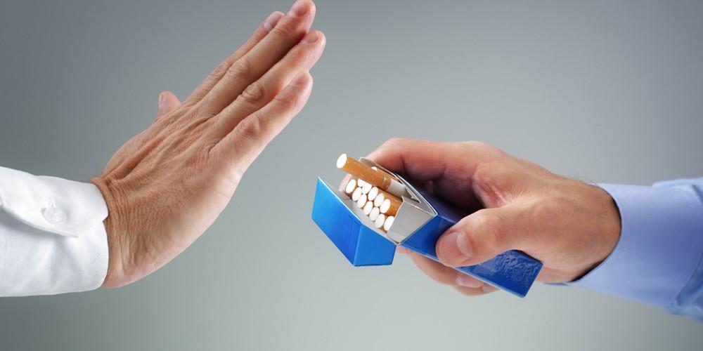 Отказ от курения перед гастроскопией