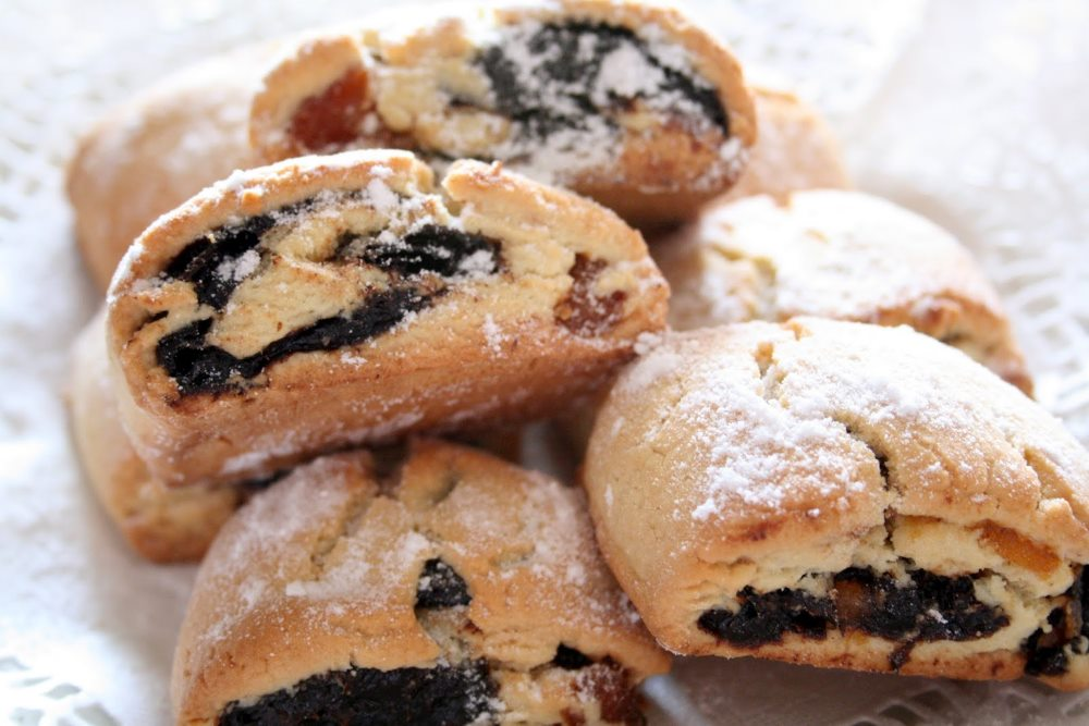 печенье с сухофруктами