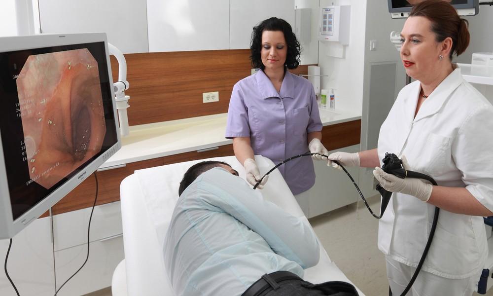 Проведение гастроскопии желудка