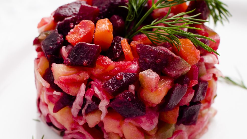 салат винегрет при гастрите