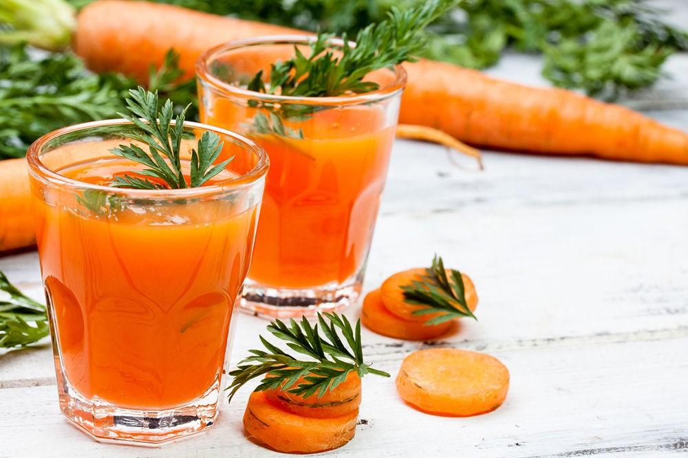 Сок красной моркови