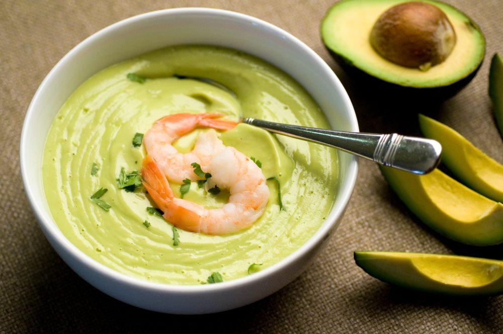 суп пюре из авокдао