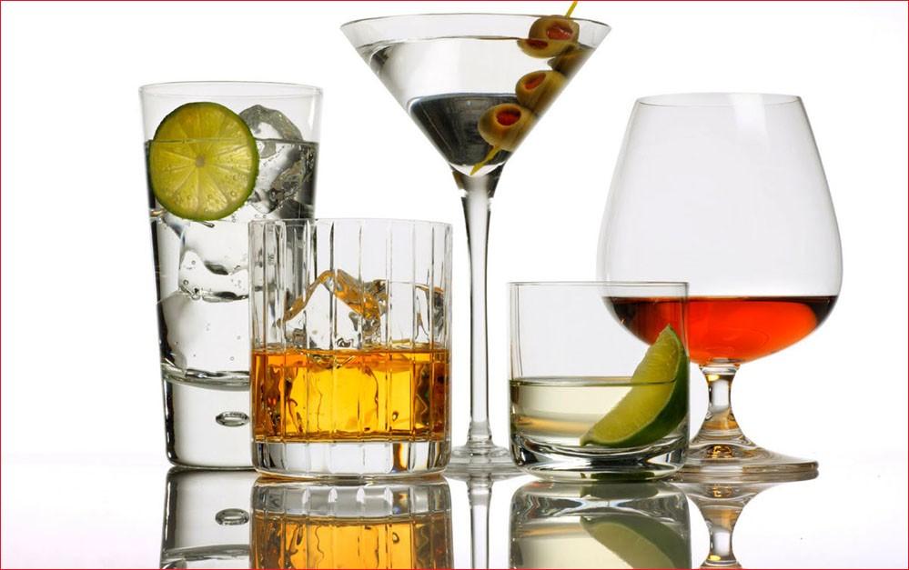 Исключение алкогольных напитков