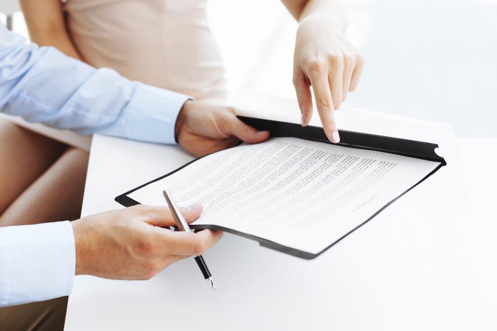 Согласие на проведение процедуры в письменном виде