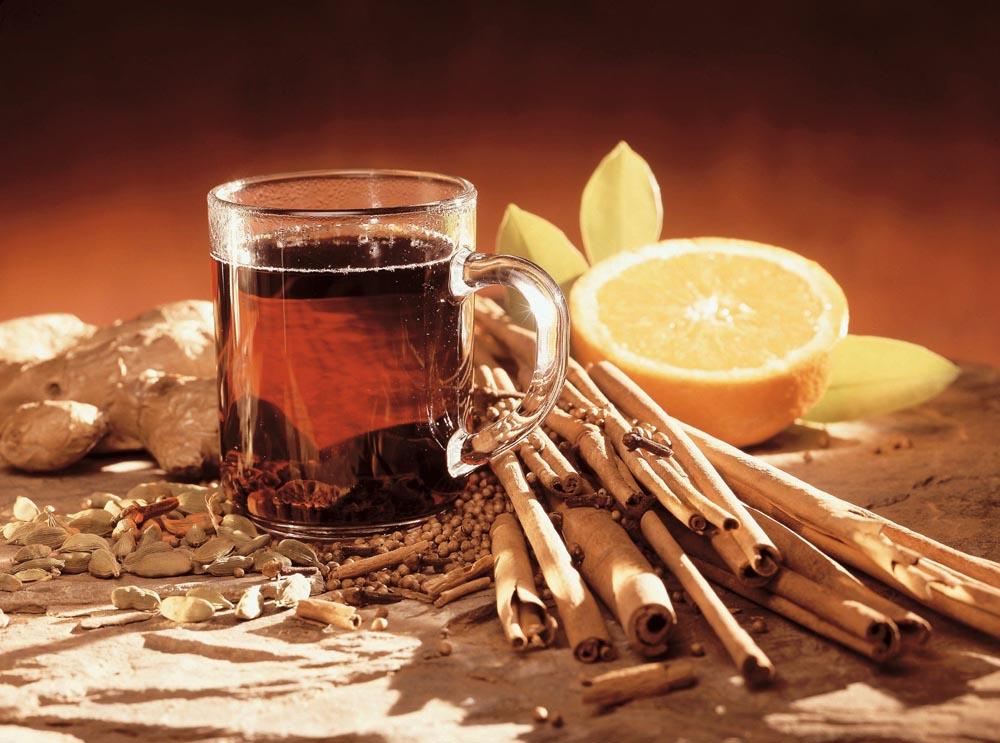Теплые напитки при гастрите